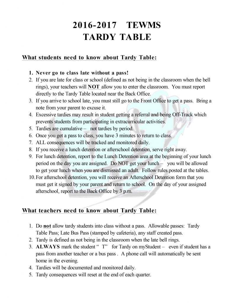 Microsoft Word - TEWMS Tardy Table 2016-17.docx